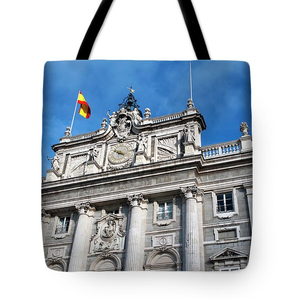Tote Bag featuring the photograph Palacio Real by Lorraine Devon Wilke
