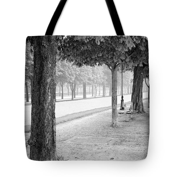 Tote Bag featuring the photograph Palais Park by Dave Beckerman