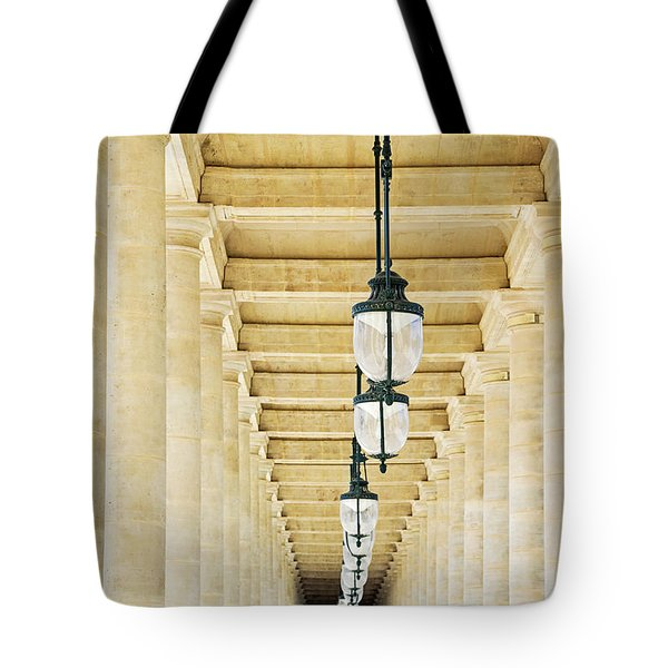 Palais-royal Arcade - Paris, France Tote Bag