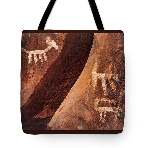 Palatki Pictographs9 Pnt Tote Bag