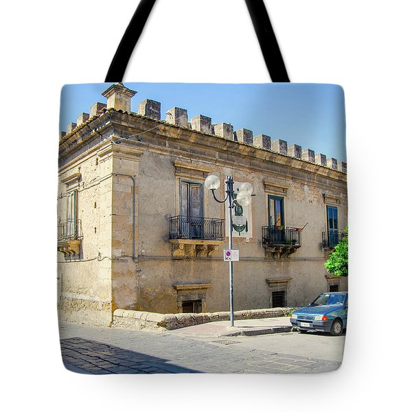 Palazzo Branciforte Or Braranciforti Sicily Tote Bag
