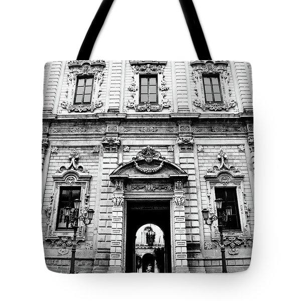 Palazzo Dei Celestini Tote Bag