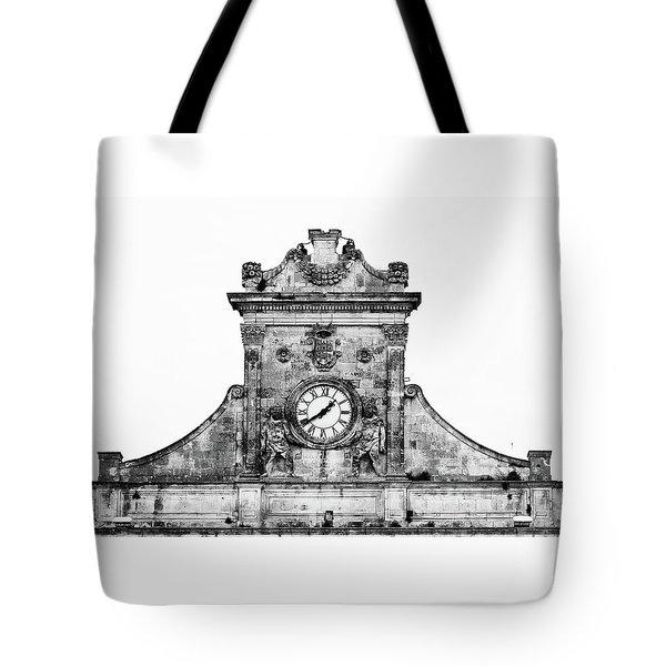Palazzo Municipale Tote Bag