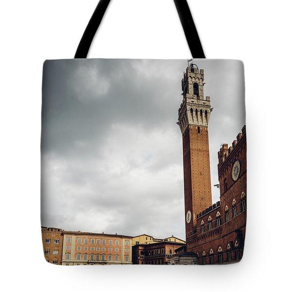 Palazzo Pubblico, Siena, Tuscany, Italy Tote Bag