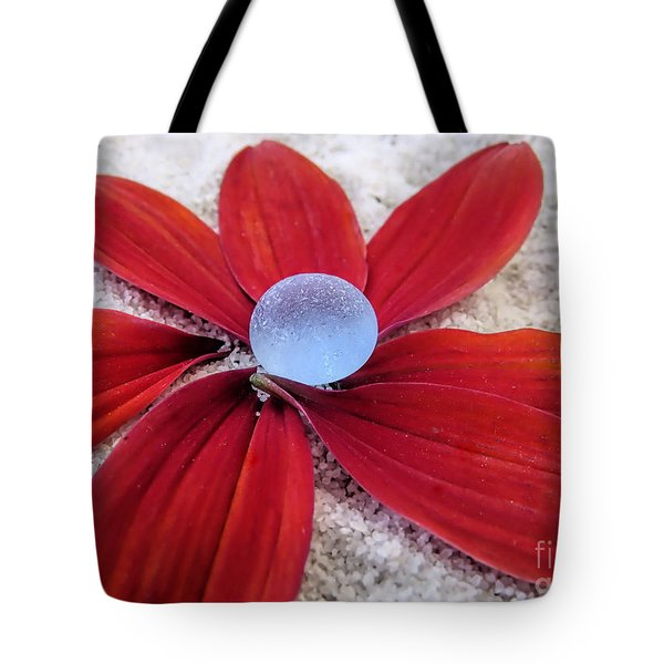 Pale Blue Sea Glass  Tote Bag