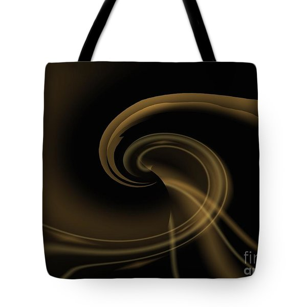Pale Darkness - Abstract Tote Bag