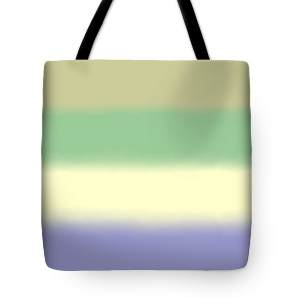 Pale Iris - Sq Block Tote Bag