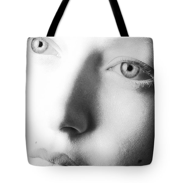 Pale Moonlight Tote Bag