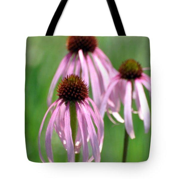 Pale Purple Tote Bag by Marty Koch