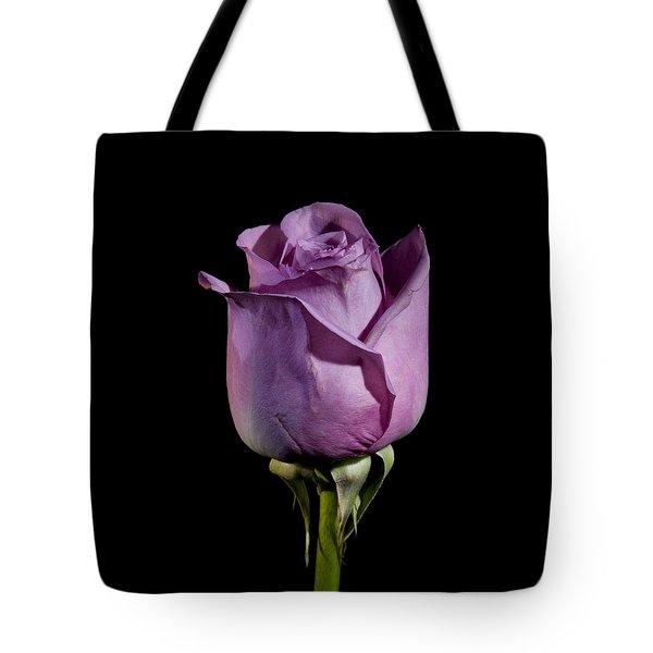 Pale Purple Rose Tote Bag