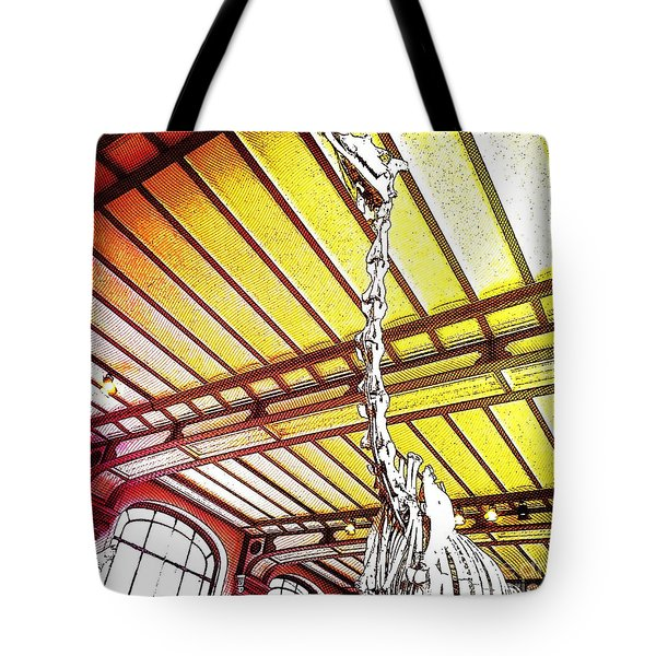 Tote Bag featuring the photograph Paleo Neck by Helge
