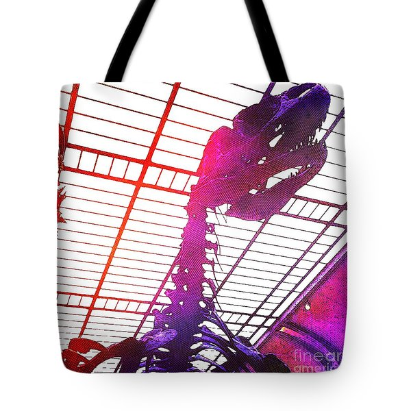 Tote Bag featuring the photograph Paleo Rex by Helge
