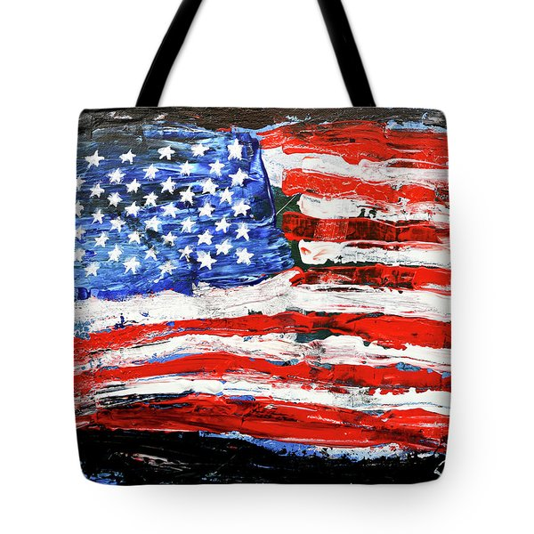 Palette Of Our Founding Principles Tote Bag