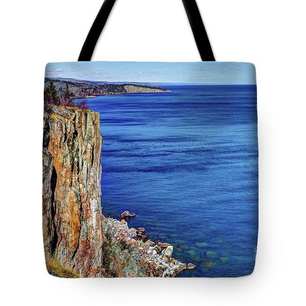 Palisade Head Tettegouche State Park North Shore Lake Superior Mn Tote Bag