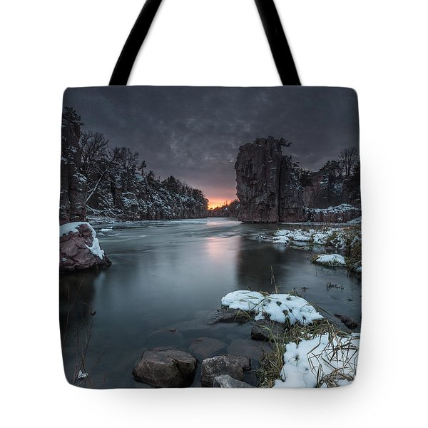Palisades First Snow Tote Bag