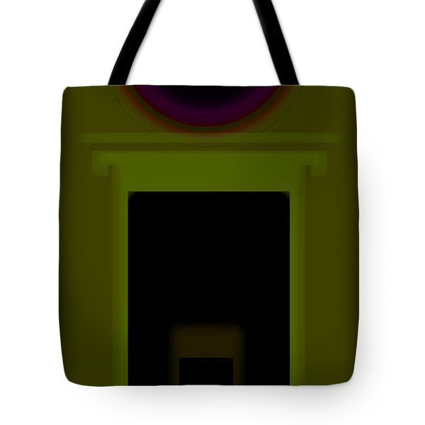 Palladian Green Tote Bag by Charles Stuart