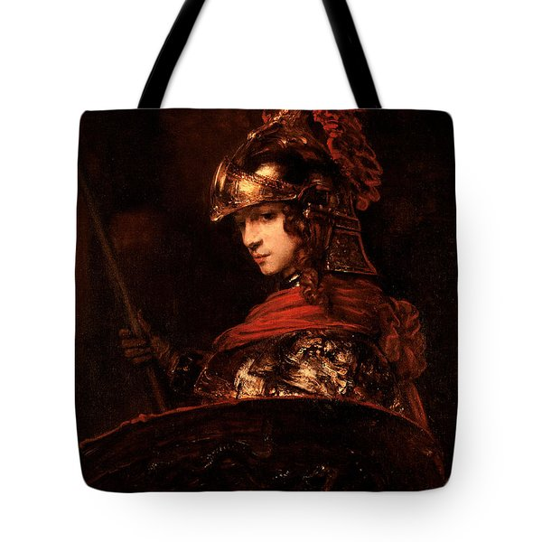 Pallas Athena  Tote Bag by Rembrandt