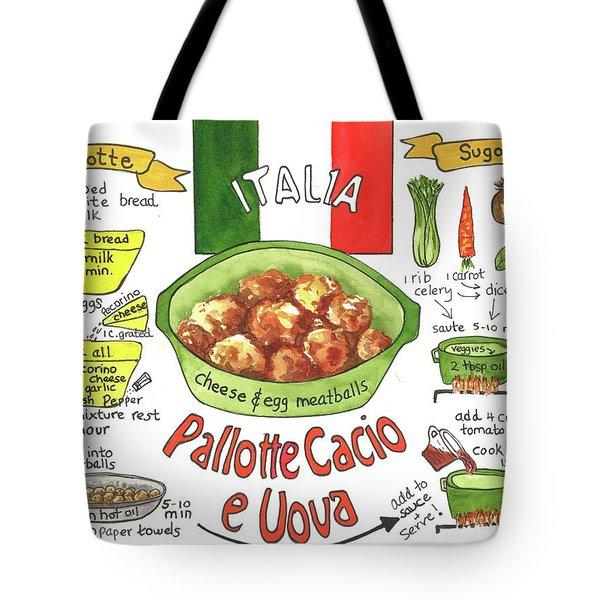 Pallotte Cacio Tote Bag