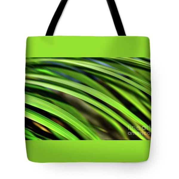 Tote Bag featuring the photograph Palm Abstract By Kaye Menner by Kaye Menner
