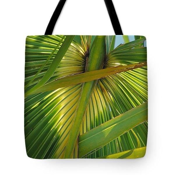 Palm Angel Tote Bag