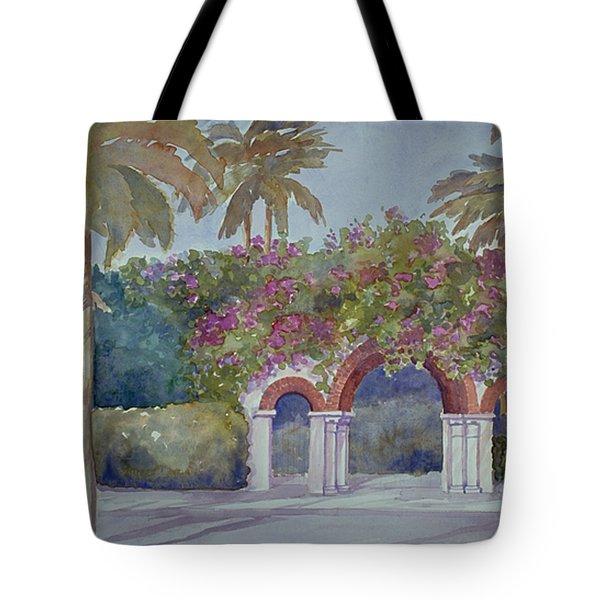 Palm Beach Gates Tote Bag