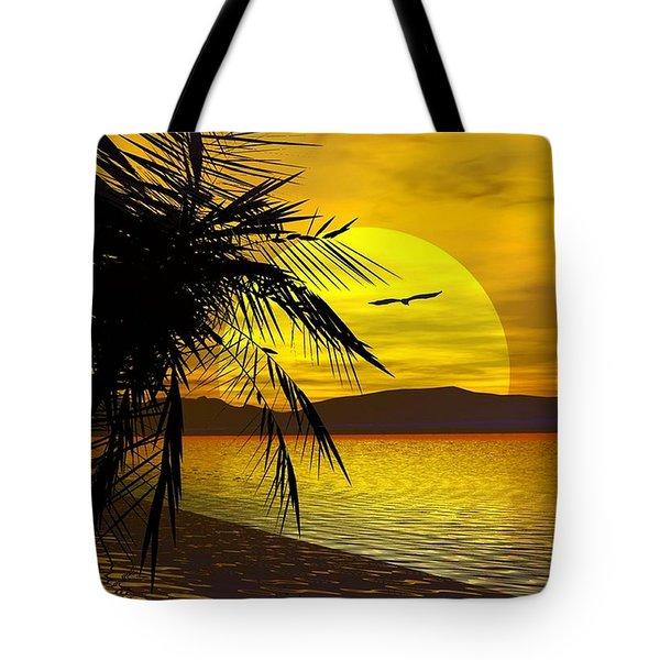 Palm Beach Tote Bag by Robert Orinski
