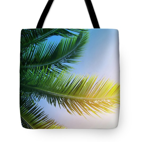Tote Bag featuring the photograph Palm Branches by Jocelyn Friis