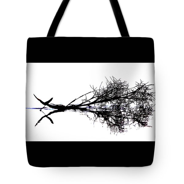 Palm Branch At The Beach Tote Bag