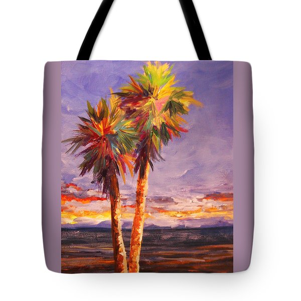 Palm Duo Tote Bag
