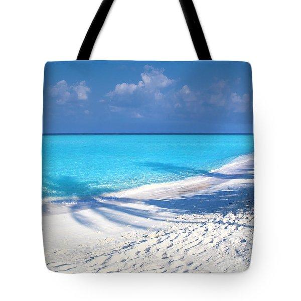 Palm Escape -  Part 3 Of 3 Tote Bag