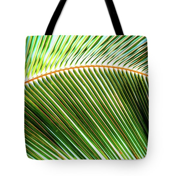 Palm Frond Sway Tote Bag
