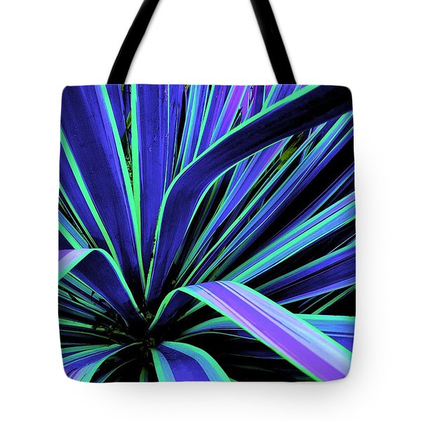Palm Fronds Tote Bag