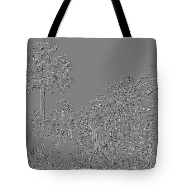 Palm Grove Tote Bag by Tetyana Kokhanets