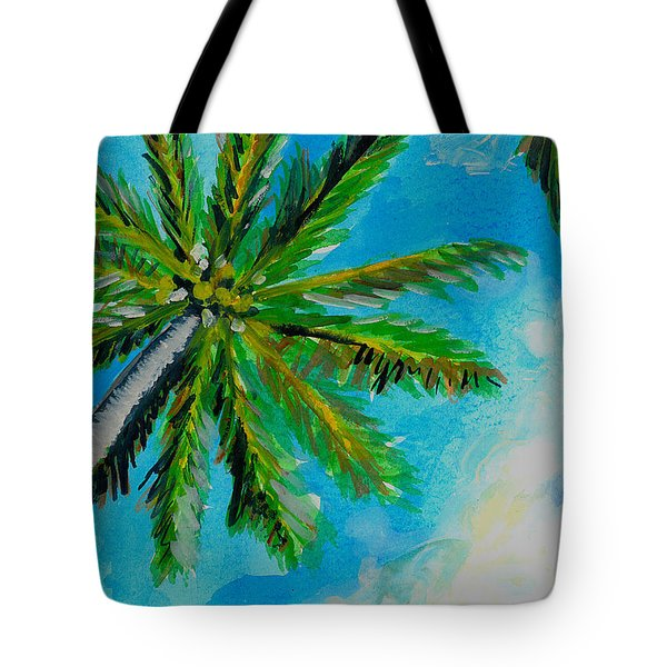 Palm In The Sky Tote Bag