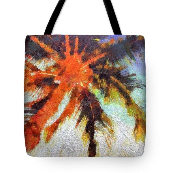 Palm No. 6 Tote Bag