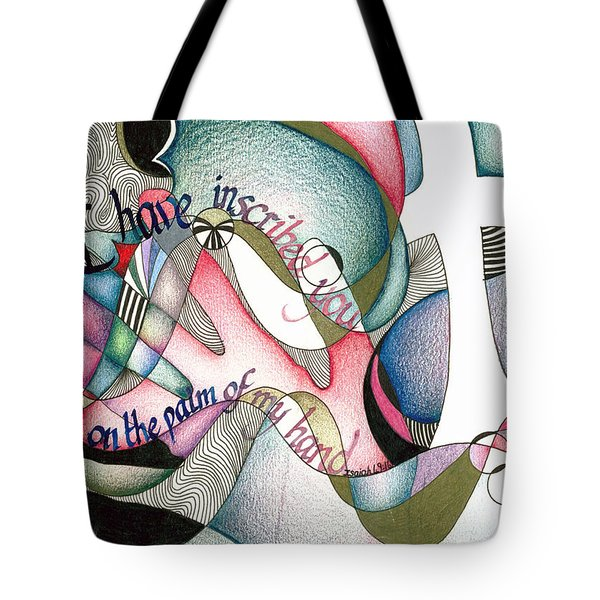 Palm Of My Hand Tote Bag by Amanda Patrick