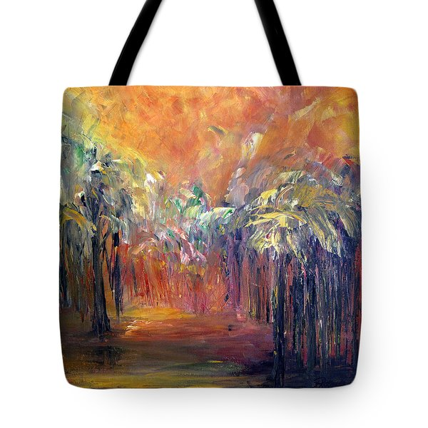 Palm Passage Tote Bag