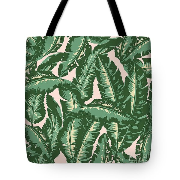 Palm Print Tote Bag