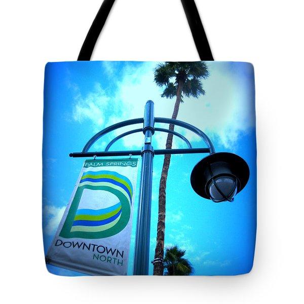 Palm Springs North Tote Bag