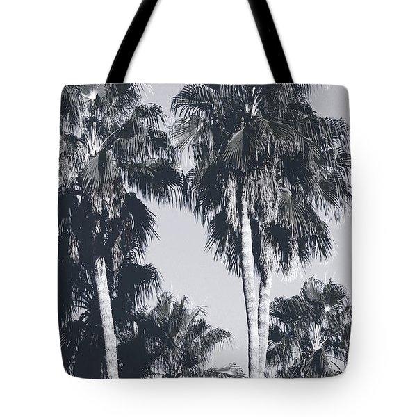 Palm Springs Palm Trees- Art By Linda Woods Tote Bag