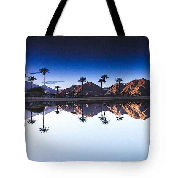Palm Springs Reflection Tote Bag