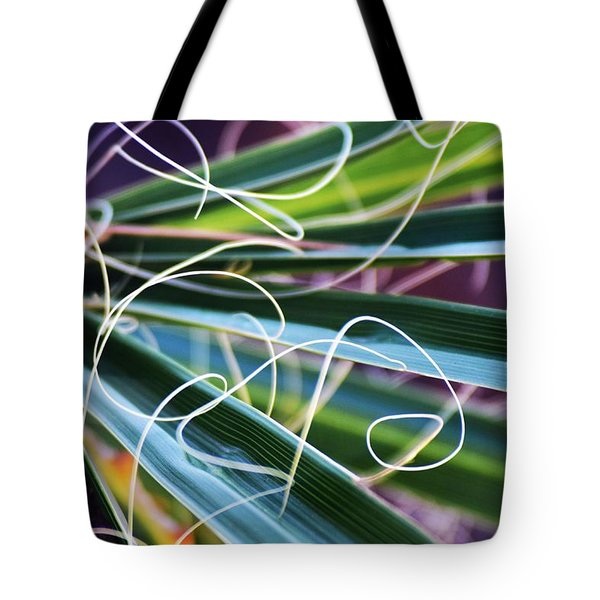 Palm Strings Tote Bag by John Glass