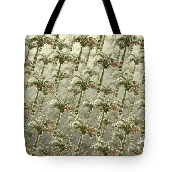 Palm Tree Grove Tote Bag