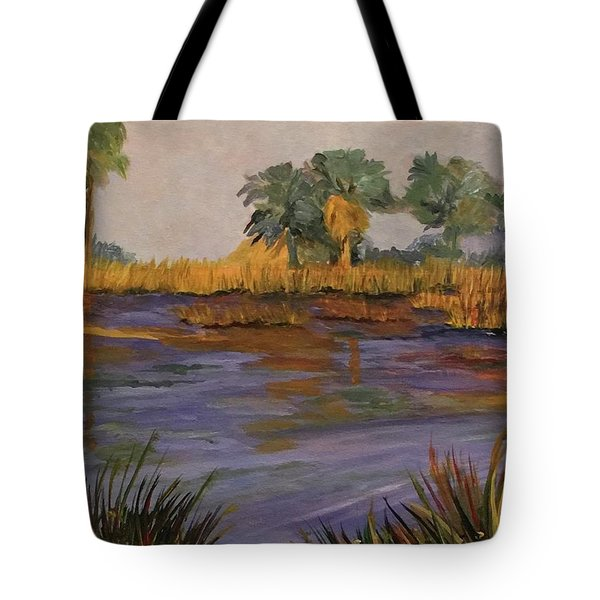 Palm Tree Hideaway  Tote Bag
