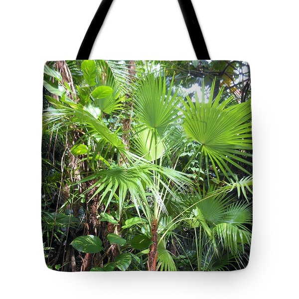 Palm Tree Tote Bag by Kay Gilley