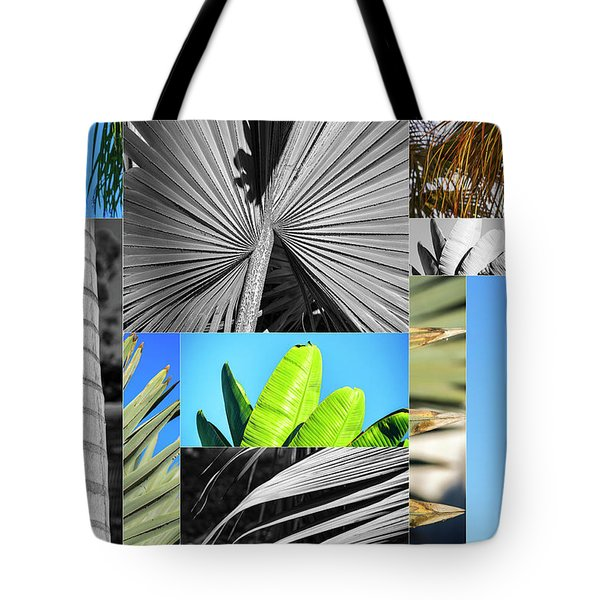 Palm Tree Parts Tote Bag