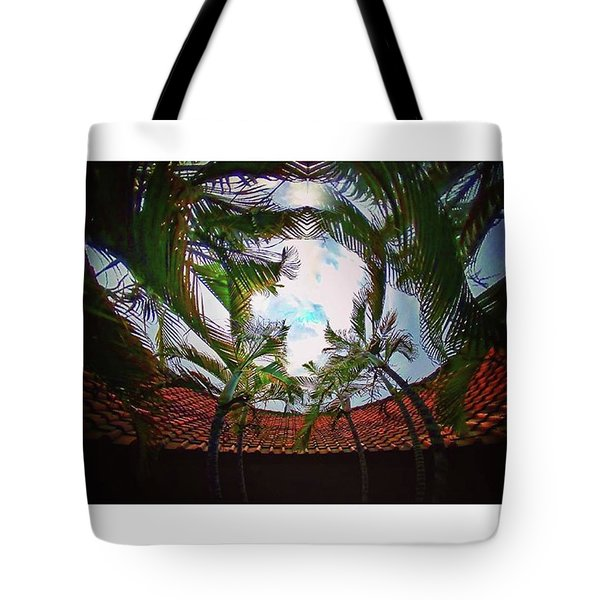 Palm Tree Party Tote Bag