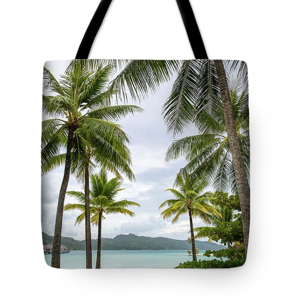 Palm Trees 1 Tote Bag by Sharon Jones