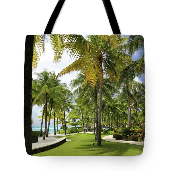 Palm Trees 2 Tote Bag by Sharon Jones