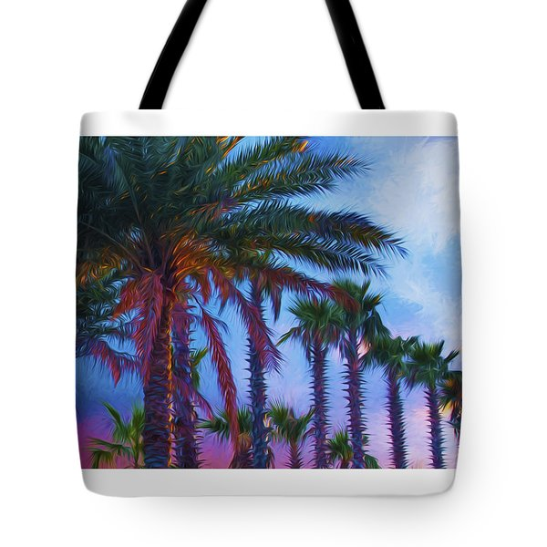 Palm Trees 3 Tote Bag